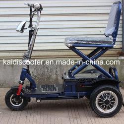 Adulto 350W dobrável e três rodas Scooter de mobilidade eléctrica com marcação CE