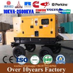 De kleine Draagbare Generator van de Aanhangwagen voor Huis/Openlucht/Steun