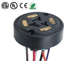 ANSI C136.41 resistente al agua 7 clavijas Photocontrol regulable de 5 PINES HEMBRA hembra para la iluminación