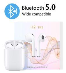 True Wireless Bluetooth наушники-вкладыши, I12 Jieli решение 5.0 Tws наушники стерео звука в формате HD 24h время воспроизведения встроенный двойной микрофон