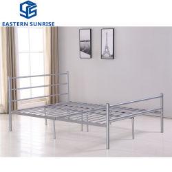 Superbequemes Einzelbett mit Metall-Mesh