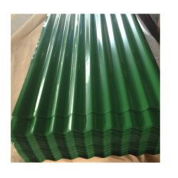 Строительный материал PPGI Prepainted цинка с покрытием цвет гофрированной стали листа крыши плитки