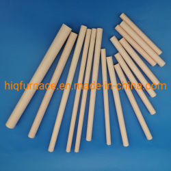 고순도 95% 99% 알루미늄 세라믹 튜브, 지르코니아 고알루냐 불응성 세라믹 튜브