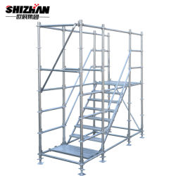 Gebäude Layher Stahlring-Verschluss-Baugerüst-materielles System für Verkauf