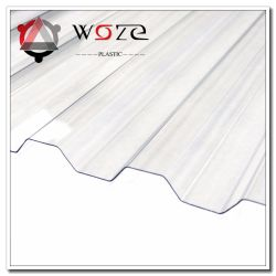 Удалите пластиковую гофрированную из поликарбоната строительных материалов и штучных кровельных листов солнечного света