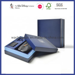 Logotipo personalizado de lujo en caja de embalaje de cartón de Papel Caja rígida Caja de regalo cosmética joyas caja de embalaje Caja de vino de la caja plegable plegable