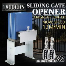 800kg abridor de puerta deslizante corredera Puerta cochera operador eléctrico
