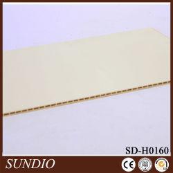 Decoração Mildewproof impermeável de Extrusão de plásticos de madeira Perfil composto WPC painel para a decoração do quarto
