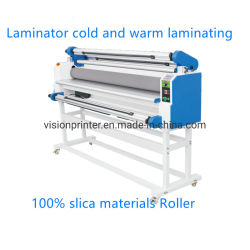 Appuyez sur pour la plastification à froid film vinyle plastificateur froide