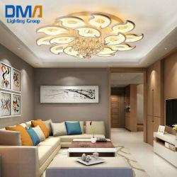 Indicatori luminosi di soffitto moderni del lampadario a bracci LED di disegno del fiore con telecomando