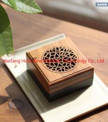 Collins personalizzato incisione Bamboo legno incenso bruciatore arabo