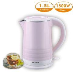 Прямая форма 3 Дизайн пластиковый корпус электрический чайник кувшина с контроллером Jiatai