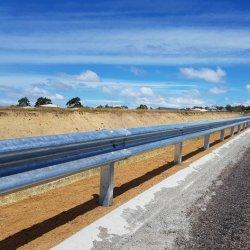 Galvanizado en caliente, haz de carretera autopista W galvanizado barandas de protección de la barrera de bloqueo
