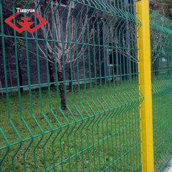 Gegalvaniseerd gelaste draad met PVC-coating, net met mesh-hekwerk