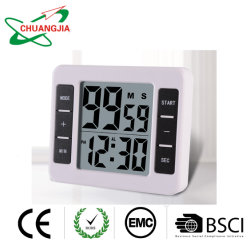 Los temporizadores de cocina magnético alarma digital con reloj temporizador mayorista