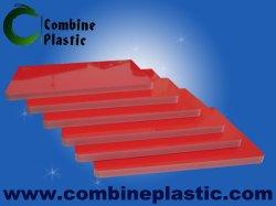 Hoog - de Raad van het Schuim van de Kleuren van dichtheidspvc met Unscratchable en Glanzende Oppervlakte