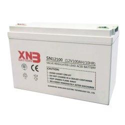 Дешевые заводская цена перезаряжаемый герметичный свинцово-кислотный аккумулятор 12V100ah аккумуляторная батарея глубокую цикла для аккумуляторной батареи ИБП/системы сигнализации/ аварийного освещения/системы связи