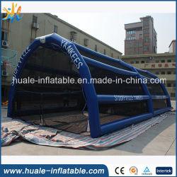 Compartimento de beisebol inflável material PVC para jogos de futebol