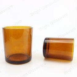 كوب من الزجاج الكهرماني سعة 8 أونصات أو 16 أونصة