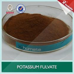 100% de potássio solúvel Fulvate para irrigação e pulverização foliar