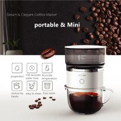 Máquina de café em casa cafeteira elétrica branca