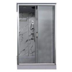 Diseño de cuarto de baño de cristal templado de rectángulo de lujo cabina de ducha de hidromasaje Habitación
