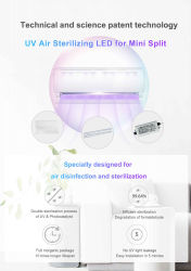 LEDの紫外線の全家の空気消毒を殺菌する紫外線空気