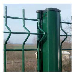 용접된 강철 와이어 메쉬 핫 DIP 아연 PVC 코팅된 정원 패널 철 금속 펜스 펜싱