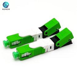 FTTH/FTTX Fibre optique SC APC 50 mm Anatel câble avec 250 Connecteur de borne isolé