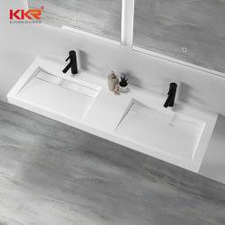 KKR 솔리드 곡면 베이슨 청소가 용이한 현대식 욕실 디자이너 세면대 및 싱크대