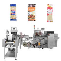 Stick de nouilles Spaghetti// Les pâtes italiennes La levée de pesage à fonctionnement entièrement automatique et le débit d'étanchéité de l'emballage Ligne de conditionnement de la machine