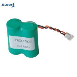 비충전식 리튬 배터리 3V, 6V Cr123A 1500mAh 가정용 안전 배터리용 원통형 배터리