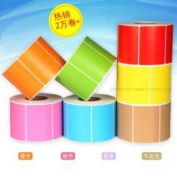 Spiegel-überzogenes Papier-selbstklebendes kupferne Platten-Aufkleber-Rollenmaterial
