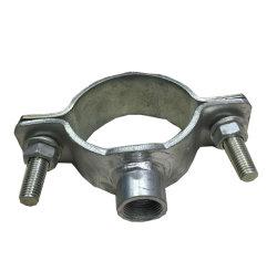 O suporte do tubo do Anel Dividido galvanizado flange do tubo de fechamento