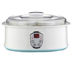 Smart yoghurt Maker 7 glazen Jar Elektrische yoghurt doe-het-zelfmachine