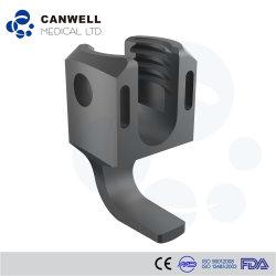 Produits de la colonne vertébrale Canwell du crochet de fixation de la colonne vertébrale, de titane,