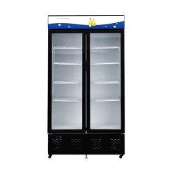 1076L comercial de supermercado refrigerador geladeira display vertical freezer