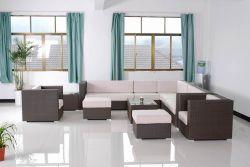 Salon/// de plein air en rotin meubles en osier (GET-601)