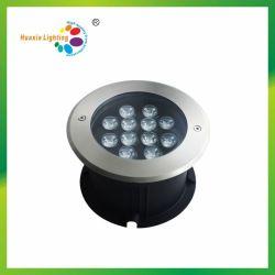 Commerce de gros en acier inoxydable IP68 LED lumière souterrain