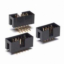 1.27mm/2.0mm/2.54 Prijs per fabriek aangepaste Box Header rechte DIP-connector