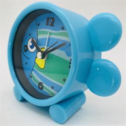 販売のための安いプラスチック漫画の子供の目覚し時計