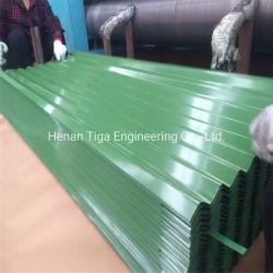 PPGI PPGLのカラーによって塗られるPrepainted波形の金属の屋根瓦のパネル