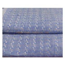 Fabrieksprijs Dobby 100% linnen stof Pure linnen streep voor Shirts en blouse