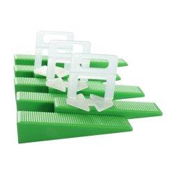 Hampool Commerce de gros de haute qualité en matière plastique de 1 mm d'installation facile niveleur de tuiles