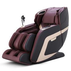 Cuir de grande qualité fauteuil de massage Shiatsu relaxant avec FOOT SPA