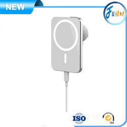 Mag-Safe iPhone 12 2020 Сверхбыстрая Чэринг Автоматический зажим 15W автомобильное зарядное устройство беспроводной связи для мобильных ПК магнитной крепление для салона автомобиля