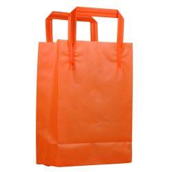 Asa de bucle programable biodegradables impresión bolsa de plástico LDPE-405-1 la bolsa de plástico (HF)