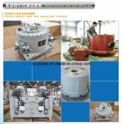Aparato de gobierno eléctrico-hidráulico de paleta rotativa
