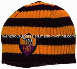 Club de football Chapeau tricoté avec broderie logo