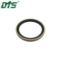 Бронзовый PTFE гидравлического уплотнения поршня Glyd кольцо NBR/FKM уплотнительное кольцо зеленого цвета